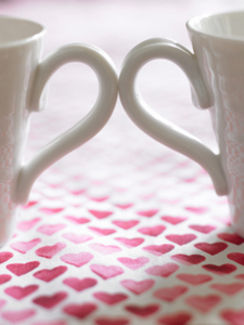 Tea bringing hearts together.