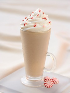 Merrymint tea latte!