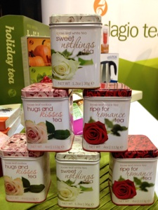 Beautiful tins - delicious teas!
