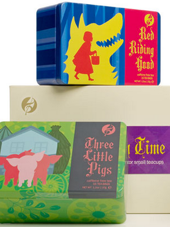 Story Time teas for young readers to enjoy.