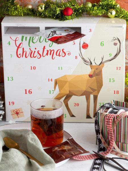 Tea Advent Calendars Are Tasty and Festive