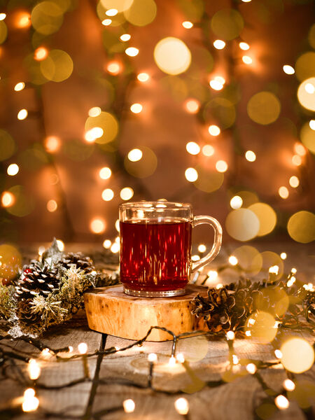 Tea is healthy and festive!