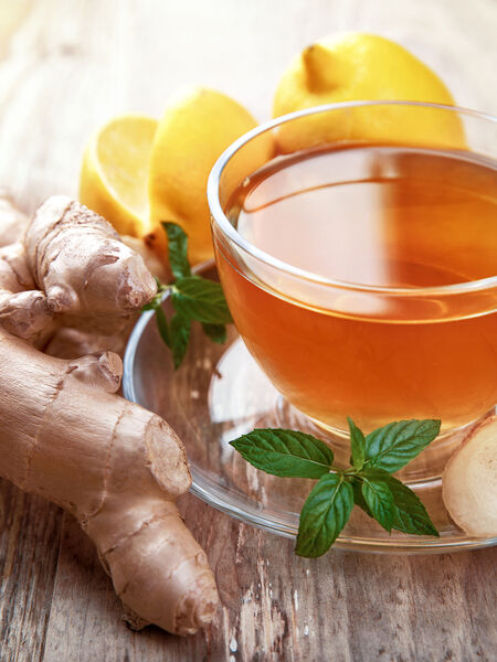 Ginger is the queen spice of wellness teas!
